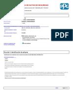 6.MSDS-Esmalte Uretano Comp. a (1)
