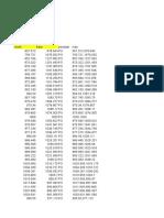 Data Tembok
