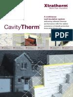 Xtratherm Cavitytherm Brochure UK Web