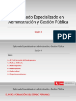 Diplomado Administracion Publica - Sesion 4