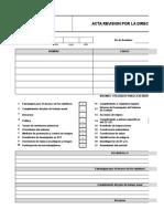 Acta Revision Por La Direccion
