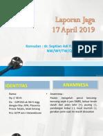 Laporan Jaga 17.4.19 Fix