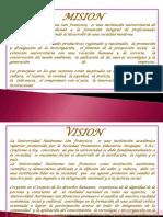 Mision y Vision Dee La Uasf
