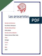 Las Procariotas
