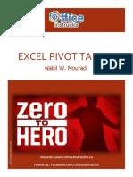 excel 2016 pivot tables merge