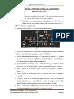 Amplificadores base comum com BJT