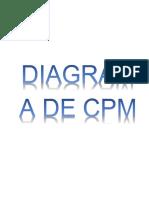 Diagrama de Cpm
