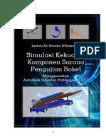 Simulasi Kekuatan Komponen Sarana Pengujian Roket Menggunakan Autodesk Inventor 2017-Lasinta Ari Nendra Wibawa