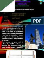 Edificios en Mexico - Cimentaciones