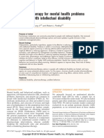 Pharmacotherapy for Mental Health Problems in People With Intellectual Disability