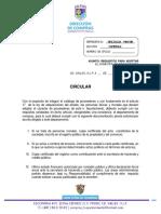 Circular - Proveedores 2018-2021