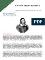 Para Aprender a Enseñar Hay Que Aprender a Aprender_ Juan Amos Comenius (1)