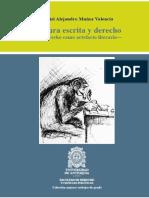 Muñoz Valencia, Daniel Alejandro - Cultura Escrita y Derecho