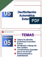 Capítulo 05 - Desfibrilación Automática Externa
