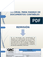 Tutorial Para Manejo de Documentos Contables