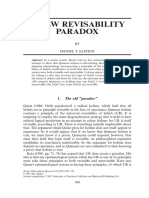 Pacific Philosophical Quarterly (Blackwell Publishing) Volume 88 Issue 3 2007 [Doi 10.1111_j.1468-0114.2007.00294.x] DANIEL Y. ELSTEIN -- A NEW REVISABILITY PARADOX