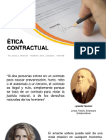 Ética Contractual Joshua Pereira