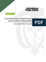 Guia Ambiental formalizacion Minera tradicional (DOCUMENTO BORRADOR).pdf