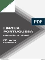 DL EFII Produção-De-Textos Cad4 8Ano Portal