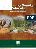 TRCP Colorado Roadless Report