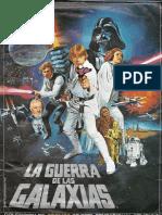 Album de Cromos La Guerra de Las Galaxias [by Papú Muñoz]