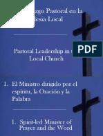 El Liderazgo en la Iglesia Local - Pr. Glidden
