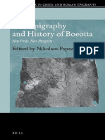 (Brill Studies in Greek and Roman Epigraphy 4) Nikolaos Papazarkadas - The Epigraphy and History of Boeotia_ New Finds, New Prospects-Brill Academic Publishers (2014).pdf
