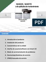 Documento Samsung M4020-M4070 Service Training.pdf