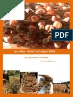 Fiche Technique Millets Par Terra Millet