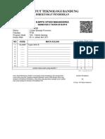 KSM 12015065 Semester 2 Tahun 2018-2019
