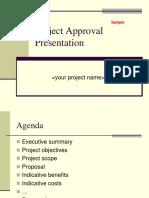 Assignment Executive Presentation Template