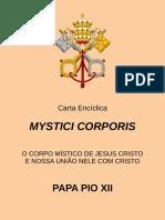 Carta Encíclica Mystici Corporis - Papa Pio XII