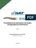 FEL Procedimiento de Autorizacion Del Auditor