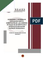 Fichas Operacionales Salud