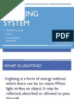 Lighting system - electives 2