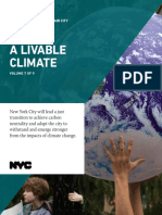 One NYC 2050 - A Livable Climate