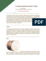 Cómo hacer un tambor grande macedonio o Tapan.docx