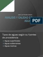 Analisis y Calidad de Aguas 1ra Clase
