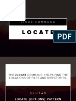 Linux Command - Locate
