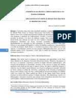 Paulo Freire e a Existência Da Prática Crítico-reflexiva No Ensino Superior