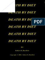 Death by Diet - Barefoot, Robert R