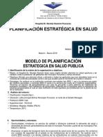 Sunilde Velasquez Modelo de Planeacion Estrategica