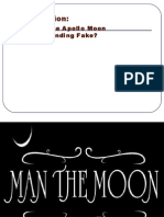 Was the Apollo Mission Fake