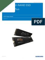 Samsung NVMe SSD 970 EVO Plus Data Sheet Rev-2-0