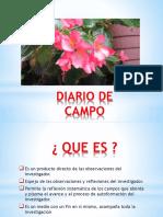 Diario de Campo a Exponer