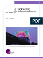 Teaching Engineering by Peter J. Goodhew