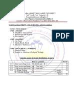 F. Y. B. Com. Sem-II Syllabus
