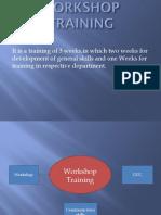 Workshop btech presentation