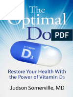 Optimal Dose_ Restore Your Health Itamin D3, The - Judson Somerville