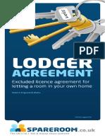 SpareRoom Lodger Agreement Blank